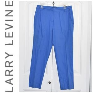 Larry Levine Ankle Pants Size 8 NWT